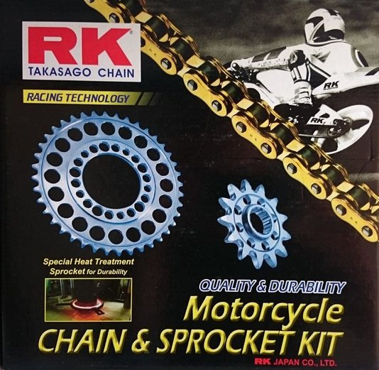 Kit Relação CB 500 R/X/F 2014 RK Japan