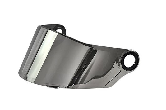 Viseira Capacete LS2 FF358/385 Iridium Silver Prata