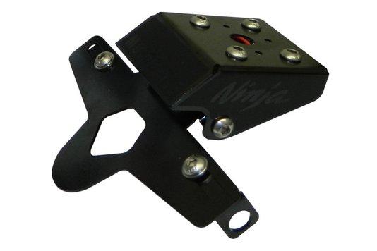 Suporte Placa ZX-6R 636 14/16 Dobrável Motostyle