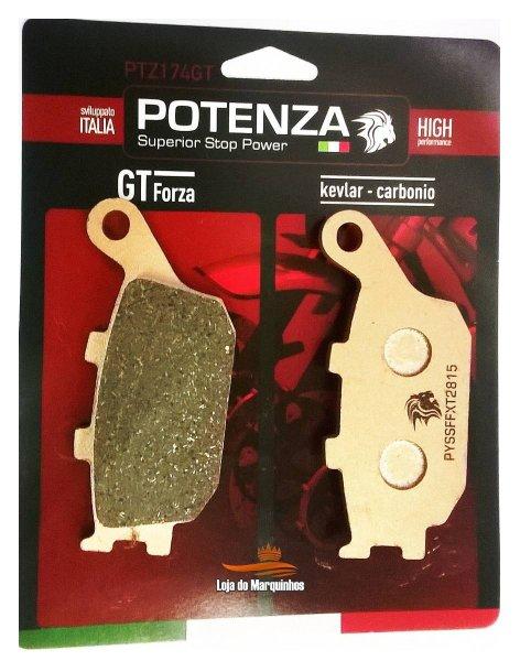 Pastilha Freio Potenza PTZ174GT