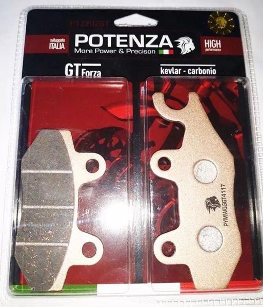 Pastilha Freio Potenza PTZ202GT Kevlar/Carbono