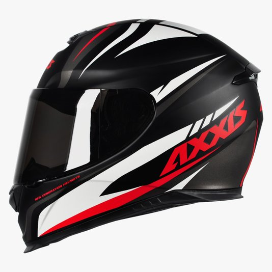 Capacete Axxis Eagle Hybrid Matt Black/Grey/White Fosco