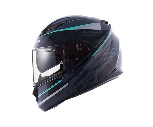 Capacete LS2 FF320 Stream Ixel GRY/BLK/Silver