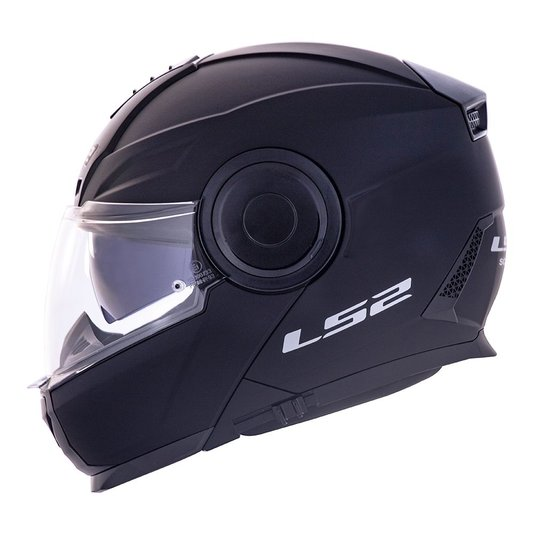 Capacete LS2 Scope FF902 Escamoteável Matte Black