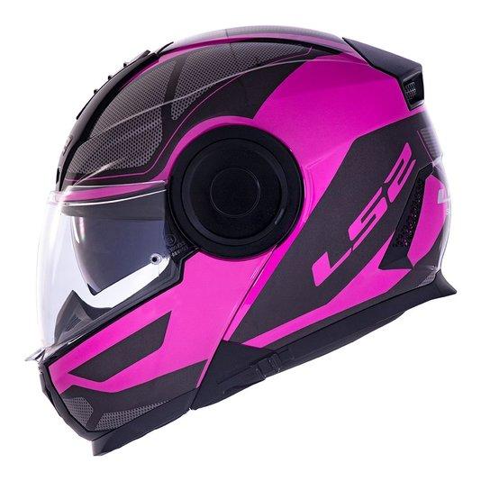 Capacete LS2 Scope FF902 Mask BLK/Pink