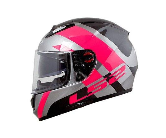 Capacete LS2 Vector FF397 Trident  Pink