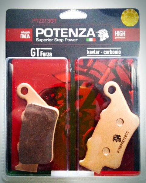 Pastilha Freio Potenza PTZ213GT Kevlar/Carbono