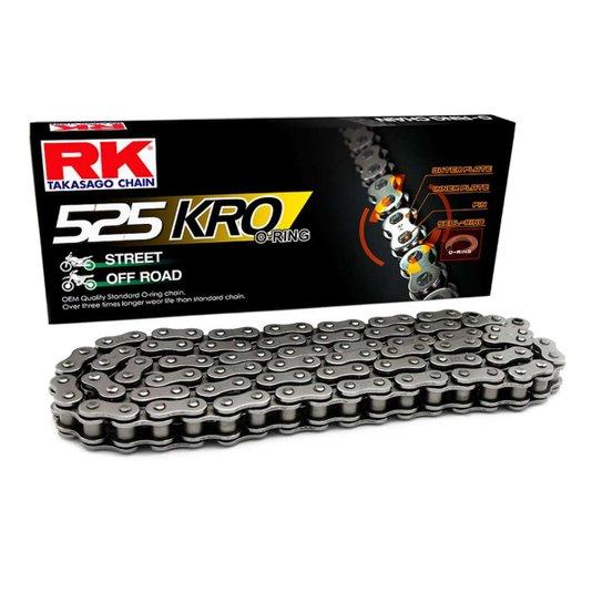 Corrente 525KROx118L RK Japan Com Retentor