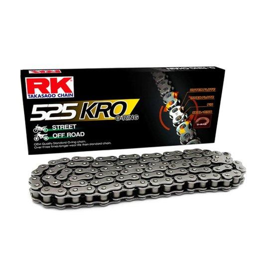 Corrente 525KROx120L RK Japan Com Retentor