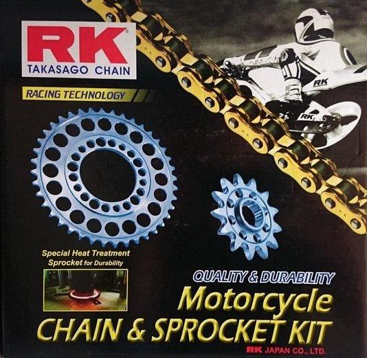 Kit Relação NC 750X Completo RK Japan