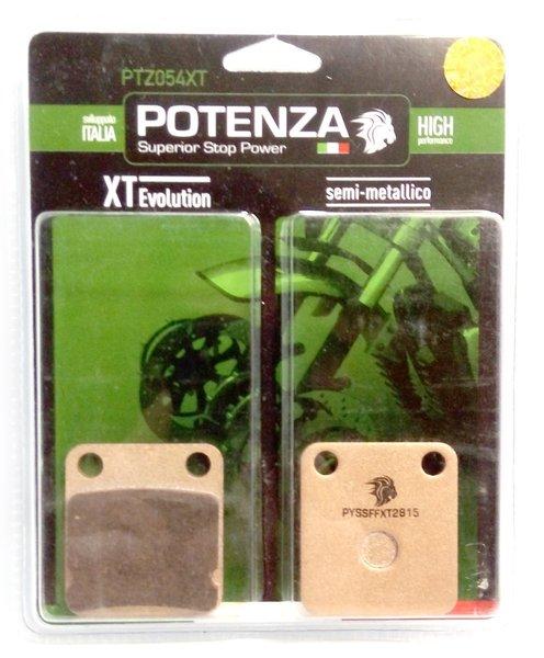 Pastilha Freio Potenza PTZ054XT Semi Metálica