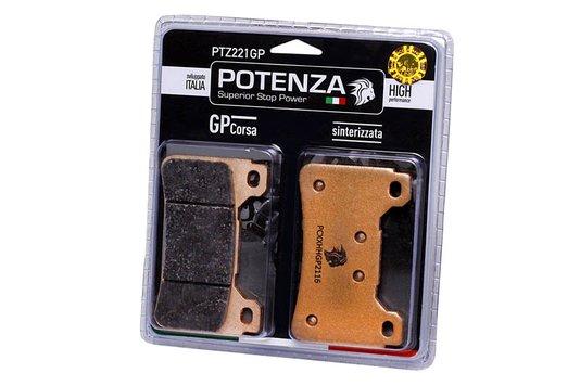 Pastilha Freio Potenza PTZ221GP Sinterizada