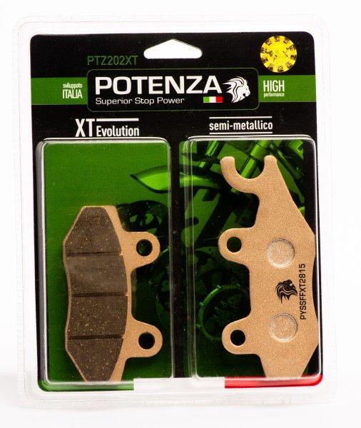 Pastilha Potenza PTZ202XT Semi Metálica