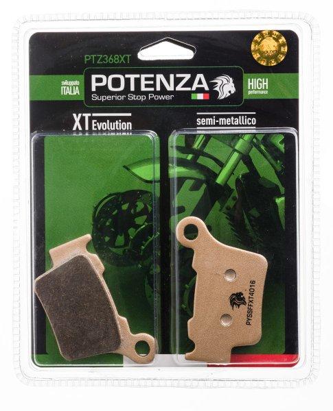Pastilha Potenza PTZ368XT Semi Metálico