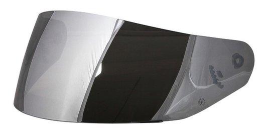 Viseira Capacete LS2 FF369 Escamoteável Iridium Silver