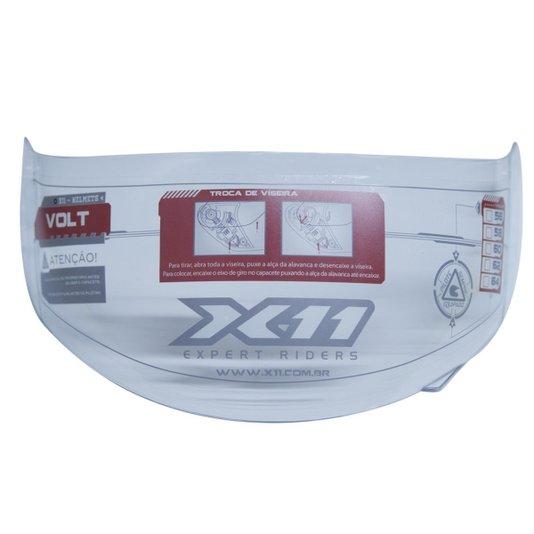 Viseira Capacete X11 Volt Cristal 2mm Original