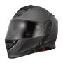 Capacete X11 Turner Solides Escamoteável Chumbo